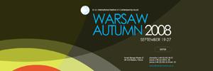Warsaw Autumn 2008