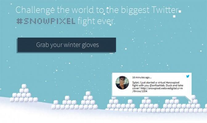 #snowpixel