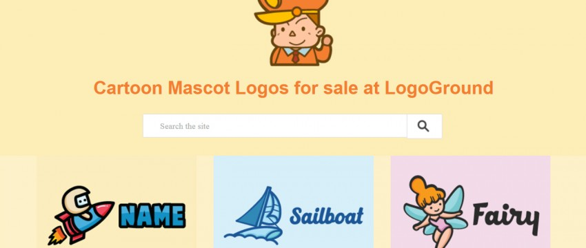 Mascot-Logo-Captain-Cartoon-Design