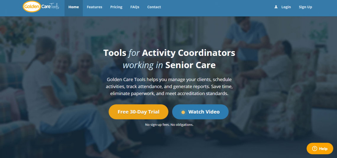 Tools for Activity Coordinators working in Senior Care