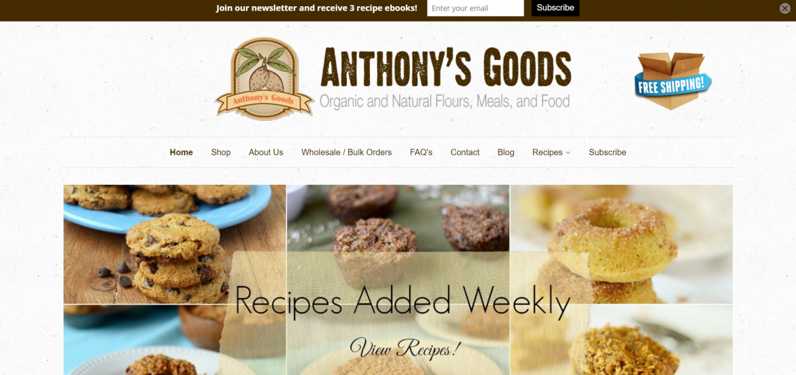anthonys-goods-home-page