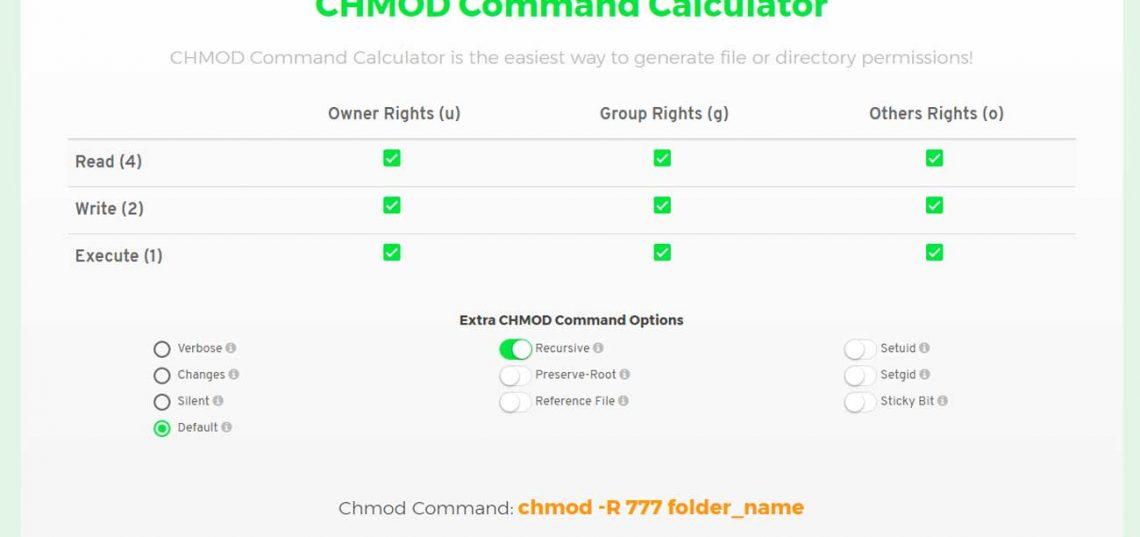 CHMOD-Command-Calculator
