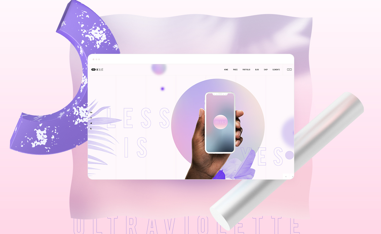 UltraViolette – Design Portfolio Theme