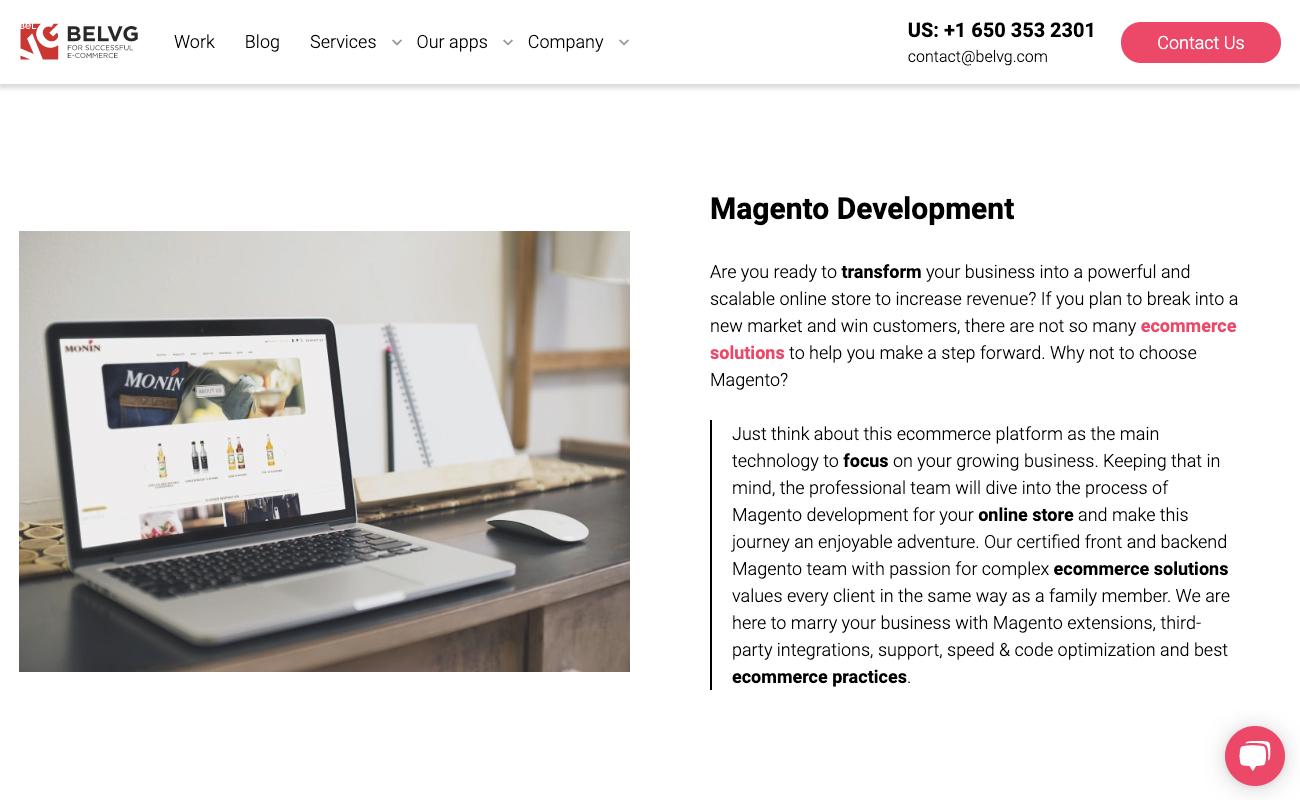 BelVG Ecommerce Development Agency